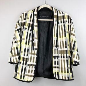 ZARA Basic Mondrian Open Blazer